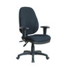 KB-802 High Quality Gray Fabric Multifunction Ergonomic Executive Swivel Chair with Adjustable Arms