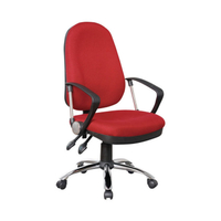 KB-802-2 Modern Chairs with Wheels, Office Armrest Chair