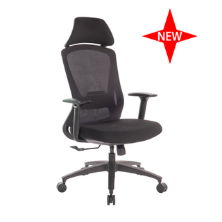 New Design 3D Armrest Ergonomic Adjustable Office Mesh Chair