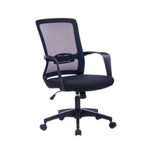 Ergonomic Mesh Back Swivel Office Chair with Fixed Armrest