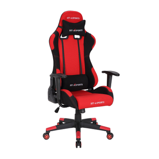 KB-8210 Modern Black&red Adjusting Headrest High Back PU Leather Pc Gaming Chair
